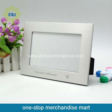 Hot sale metal photo frame aluminum photo frame